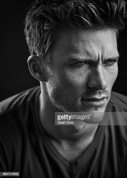 Actor Scott Eastwood is photographed for 20th Century Fox on November 5 2014 in Los Angeles California