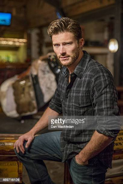 Actor Scott Eastwood is photographed for USA Today on March 9 2015 in Universal City California