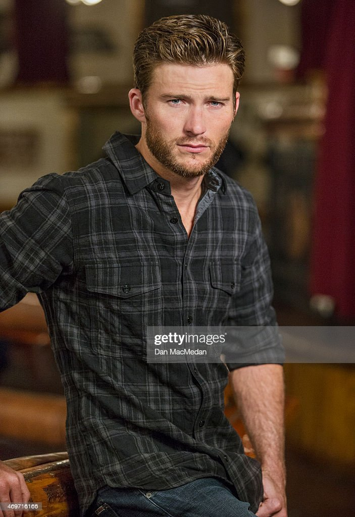 Actor Scott Eastwood is photographed for USA Today on March 9, 2015 in Universal City, California.