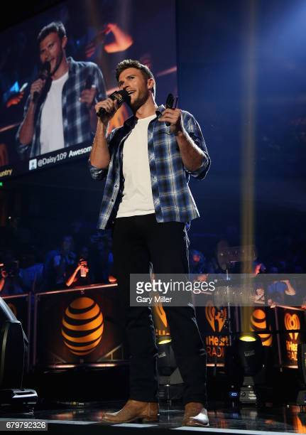 Actor Scott Eastwood speaks onstage during the 2017 iHeartCountry Festival A Music Experience by ATT at The Frank Erwin Center on May 6 2017 in...