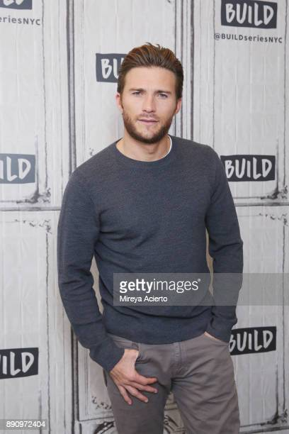 Actor Scott Eastwood visits Build to discuss the movie 'Pacific Rim Uprising' at Build Studio on December 12 2017 in New York City