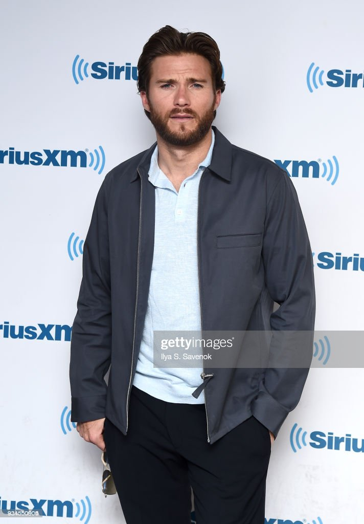Actor Scott Eastwood visits the SiriusXM Studios on March 19, 2018 in New York City.