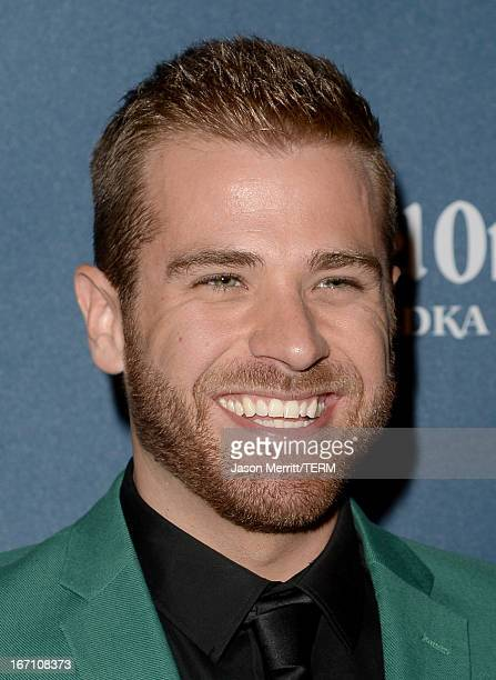 Actor Scott Evans arrives at the 24th Annual GLAAD Media Awards at JW Marriott Los Angeles at LA LIVE on April 20 2013 in Los Angeles California