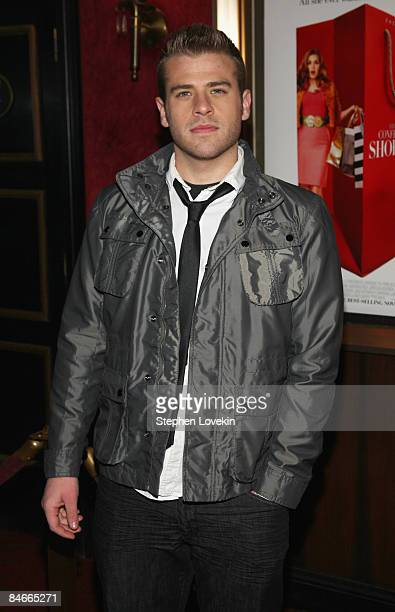 Actor Scott Evans attends the premiere of Confessions of a Shopaholic at the Ziegfeld Theatre on February 5 2009 in New York City