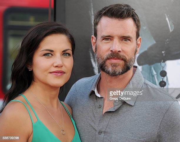 Actor Scott Foley and wife/actress Marika Dominczyk arrive at the 2016 Los Angeles Film Festival The Conjuring 2 Premiere at TCL Chinese Theatre IMAX...