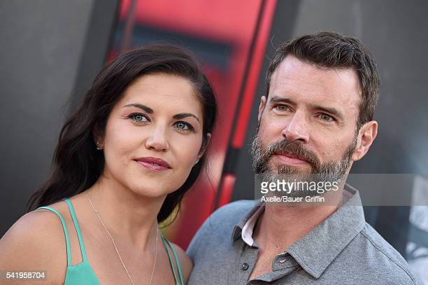 Actor Scott Foley and wife/actress Marika Dominczyk arrive at the 2016 Los Angeles Film Festival 'The Conjuring 2' Premiere at TCL Chinese Theatre...