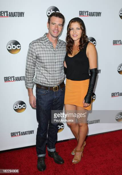 Actor Scott Foley attends the 200th episode celebration of 'Grey's Anatomy' at The Colony on September 28 2013 in Los Angeles California