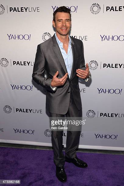 Actor Scott Foley attends The Paley Center For Media presents an evening with the cast of Scandal at Paley Center For Media on May 14 2015 in New...