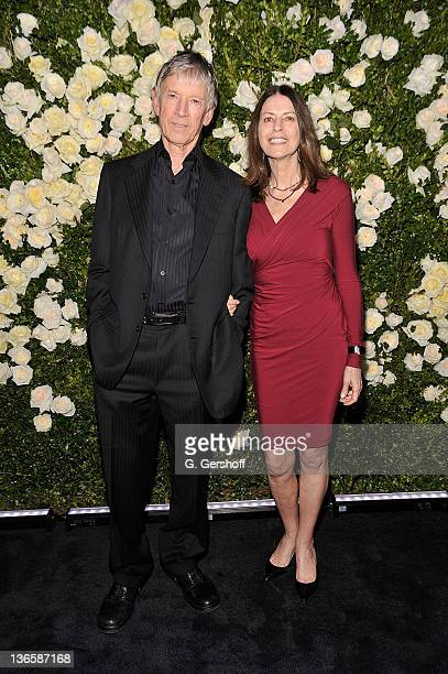 Actor Scott Glenn and Carol Schwartz attends the 6th annual CHANEL Tribeca Film Festival Artists Dinner at Odeon on April 25 2011 in New York City