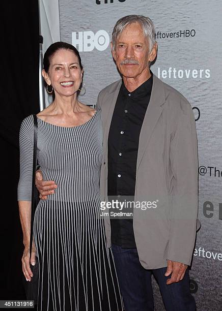 Actor Scott Glenn and wife Carol Schwartz attend The Leftovers premiere at NYU Skirball Center on June 23 2014 in New York City