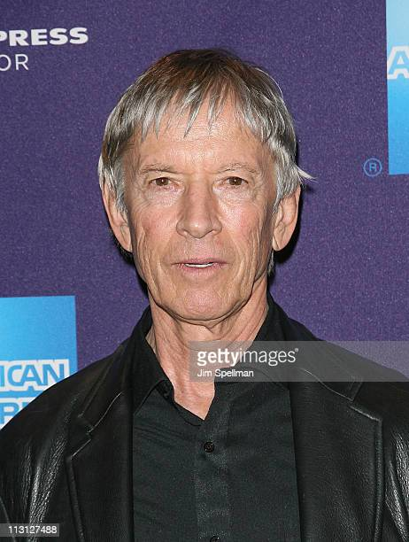 Actor Scott Glenn attends the premiere of Magic Valley during the 10th annual Tribeca Film Festival at Clearview Cinemas Chelsea on April 23 2011 in...