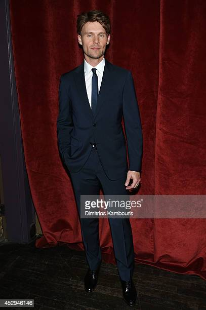 Actor Scott Haze attends the Child Of God premiere at Tribeca Grand Hotel on July 30 2014 in New York City