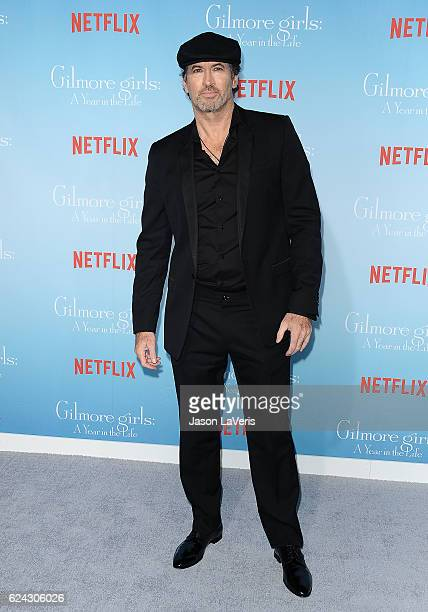 Actor Scott Patterson attends the premiere of 'Gilmore Girls A Year in the Life' at Regency Bruin Theatre on November 18 2016 in Los Angeles...