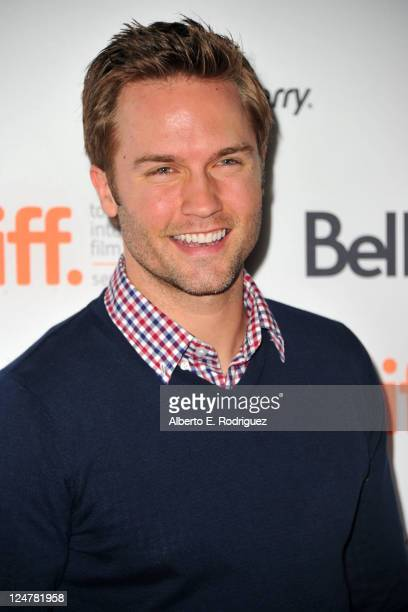 Actor Scott Porter attends Ten Year Premiere at Ryerson Theatre during the 2011 Toronto International Film Festival on September 12 2011 in Toronto...