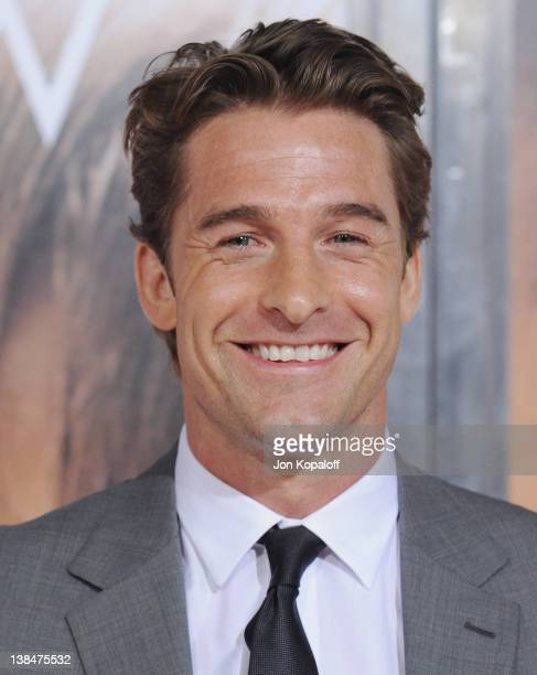 Actor Scott Speedman arrives at the Los Angeles Premiere 'The Vow' at Grauman's Chinese Theatre on February 6 2012 in Hollywood California