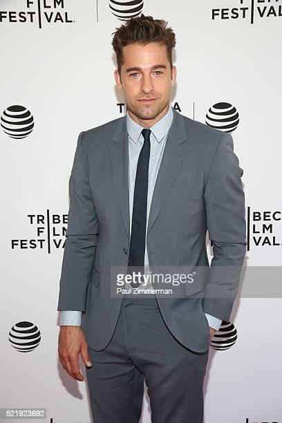 "Actor Scott Speedman at Series Premiere of TNT's New Original Drama, ""Animal Kingdom"" during Tribeca Film Festval at SVA Theatre 1 on April 17, 2016..."