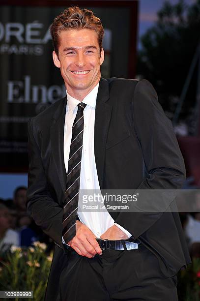 """Actor Scott Speedman attends the """"Barney's Version"""" premiere during the 67th Venice Film Festival at the Sala Grande Palazzo Del Cinema on September..."""