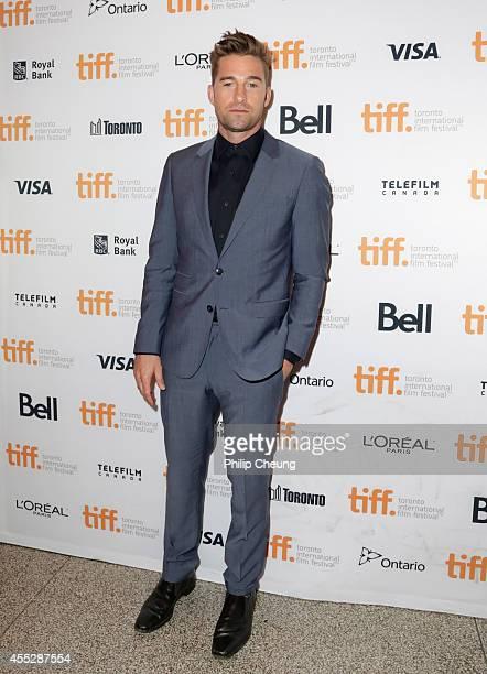 Actor Scott Speedman attends the 'October Gale' premiere during the 2014 Toronto International Film Festival at Winter Garden Theatre on September 11...
