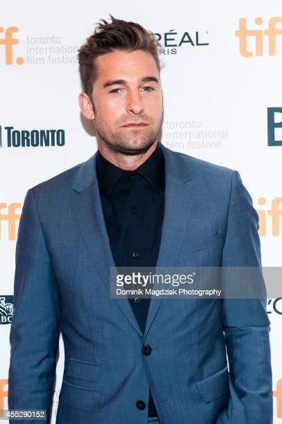 "Actor Scott Speedman attends the ""October Gale"" premiere during the Toronto International Film Festival at Winter Garden Theatre on September 11,..."