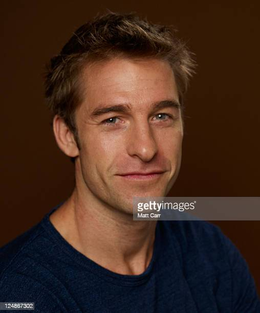Actor Scott Speedman of 'The Mother Diaries' poses during the 2011 Toronto International Film Festival at the Guess Portrait Studio on September 13...