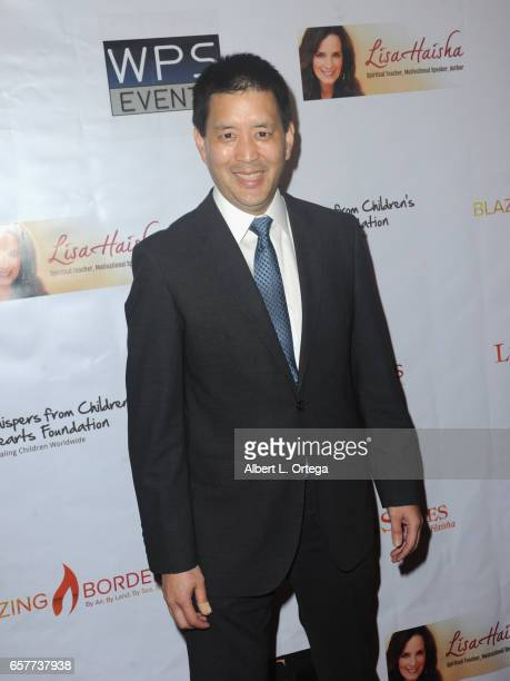 Actor Scott Takeda arrives for the Whispers From Children's Hearts Foundation's 3rd Legacy Charity Gala held at Casa Del Mar on March 24 2017 in...