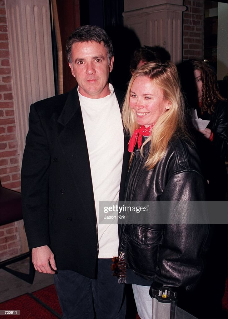 Actor Scott Valentine And His Wife Kim Valentine Arrive At The Premiere  Party For The New