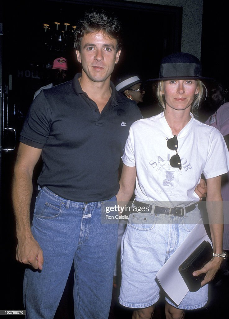 Actor Scott Valentine And Wife Kym Fisher Attend The U0027Housing Nowu0027 Press  Conference On
