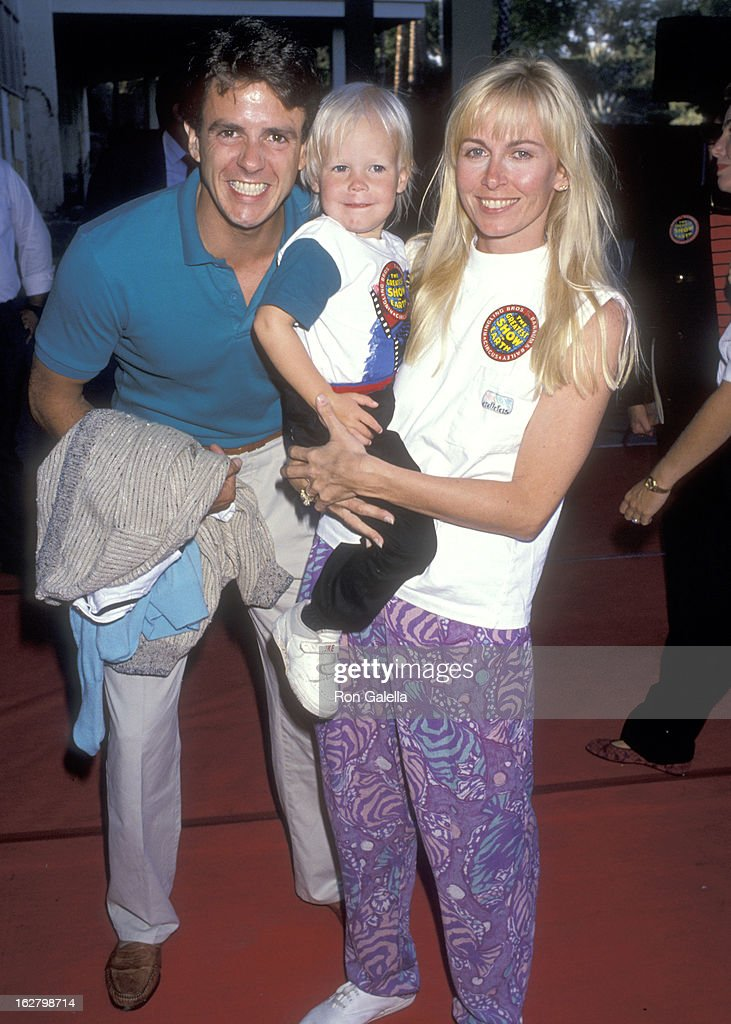 Actor Scott Valentine Wife Kym Fisher And Son Trevin Valentine Attend U0027The  Greatest Show On
