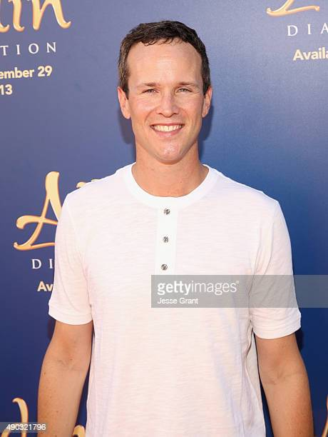 Actor Scott Weinger attends a special LA screening celebrating Diamond Edition release of 'ALADDIN' at The Walt Disney Studios on September 27 2015...