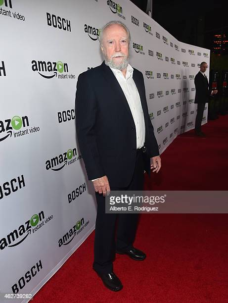 Actor Scott Wilson arrives for the red carpet premiere screening for Amazon's first original drama series 'Bosch' at The Dome at Arclight Hollywood...