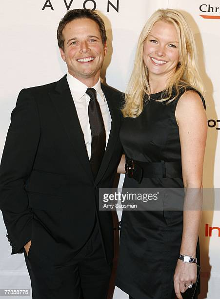 Actor Scott Wolf and his wife Kelley Limp attend Project ALS Tomorrow Is Tonight Tenth Anniversary celebration at The Waldorf Astoria on October 16...