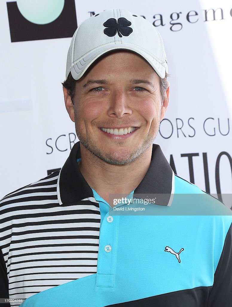 Actor Scott Wolf attends the Screen Actors Guild Foundation 4th Annual Los Angeles Golf Classic at Lakeside Golf Club on June 10, 2013 in Burbank, California.