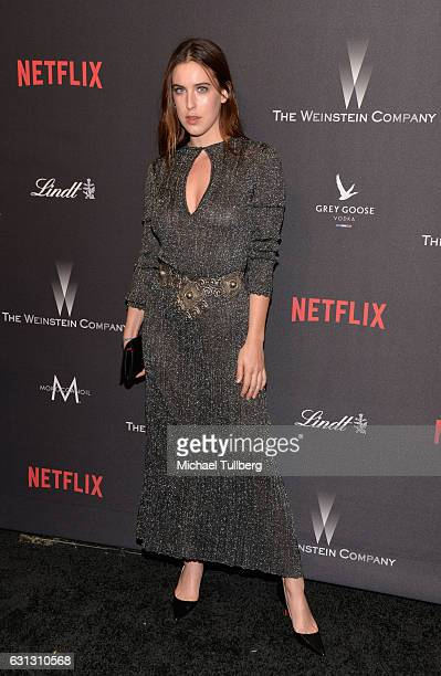 Actor Scout Willis attends the 2017 Weinstein Company And Netflix Golden Globes After Party on January 8 2017 in Los Angeles California