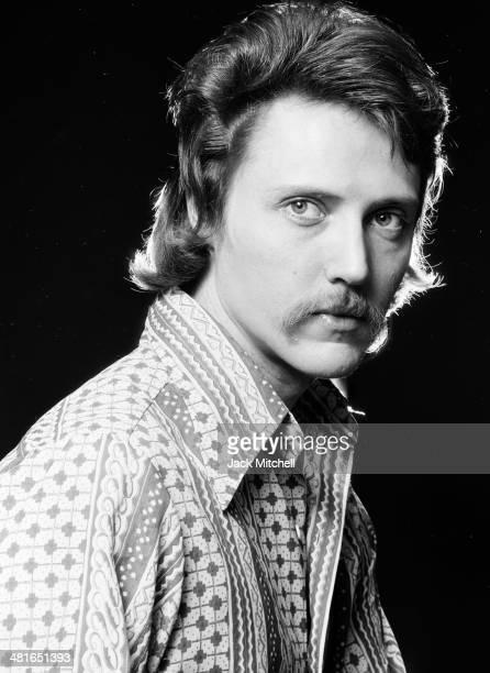 Actor screenwriter and director Christopher Walken photographed in 1973
