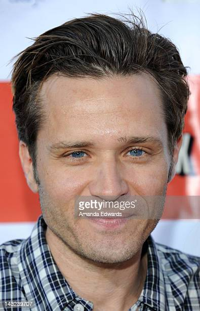 Actor Seamus Dever arrives at the Band From TV's 2nd Annual Block Party On Wisteria Lane at Universal Studios Backlot on April 21 2012 in Universal...