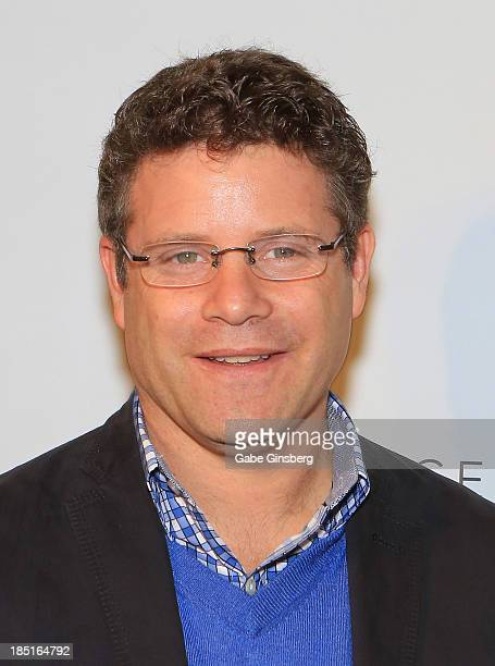 Actor Sean Astin arrives at the 20th anniversary celebration of the film 'Rudy' at the Brenden Theatres inside the Palms Casino Resort on October 17...