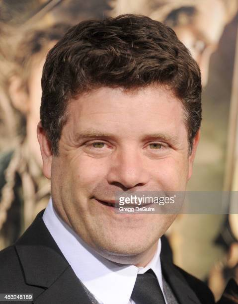 Actor Sean Astin arrives at the Los Angeles premiere of The Hobbit The Desolation Of Smaug at TCL Chinese Theatre on December 2 2013 in Hollywood...