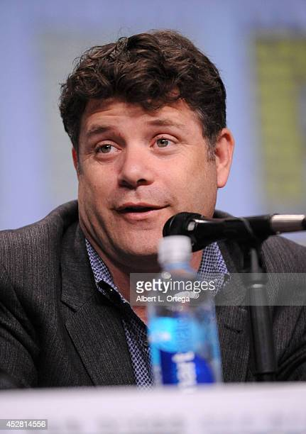 Actor Sean Astin attends FX's 'The Strain' panel during ComicCon International 2014 at San Diego Convention Center on July 27 2014 in San Diego...