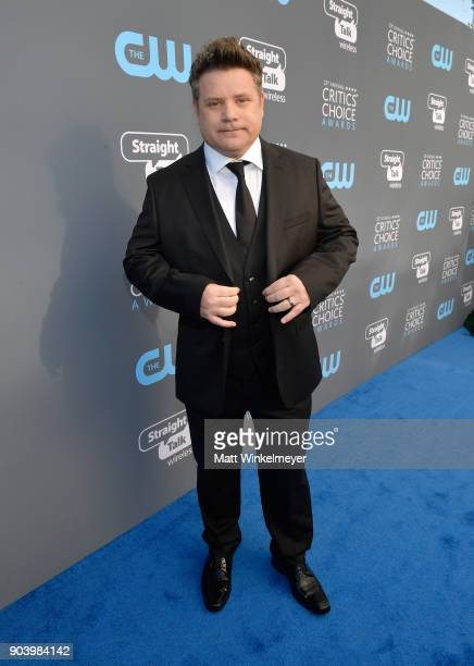Actor Sean Astin attends The 23rd Annual Critics' Choice Awards at Barker Hangar on January 11 2018 in Santa Monica California