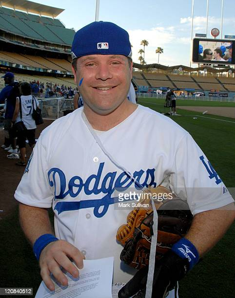 Actor Sean Astin attends the Dodgers 50th Annual Hollywood Stars Game on June 21 2008 at Dodger Stadium in Los Angeles California