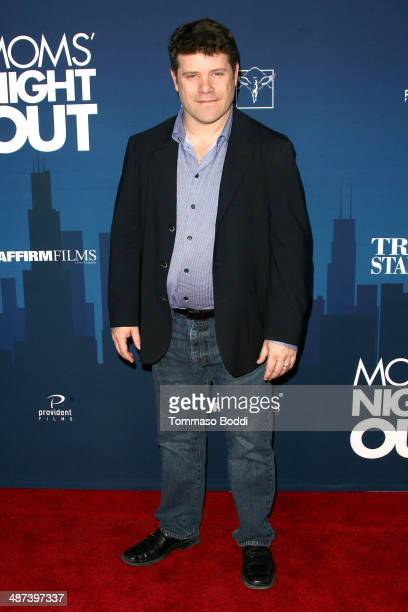 Actor Sean Astin attends the 'Mom's Night Out' Los Angeles premiere held at the TCL Chinese Theatre IMAX on April 29 2014 in Hollywood California