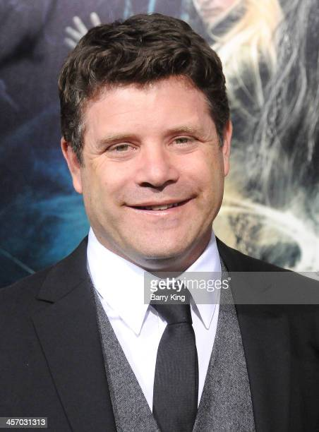 Actor Sean Astin attends the premiere of 'The Hobbit The Desolation Of Smaug' on December 2 2013 at TCL Chinese Theatre in Hollywood California
