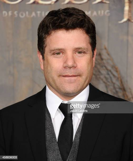 Actor Sean Astin attends the premiere of 'The Hobbit The Desolation Of Smaug' at TCL Chinese Theatre on December 2 2013 in Hollywood California