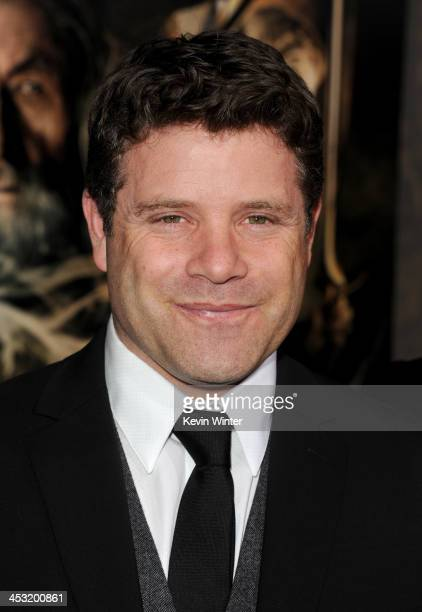 Actor Sean Astin attends the premiere of Warner Bros' 'The Hobbit The Desolation of Smaug' at TCL Chinese Theatre on December 2 2013 in Hollywood...