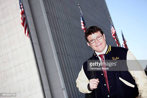 Actor Sean Astin celebrates kickoff of the 2nd season premiere of his bipartisan political radio talk show 'Vox Populi Radio' at the Federal Building...