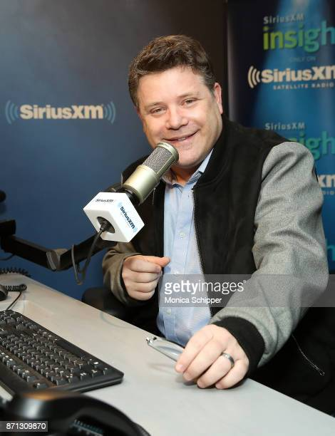 Actor Sean Astin visits SiriusXM Studios on November 7 2017 in New York City