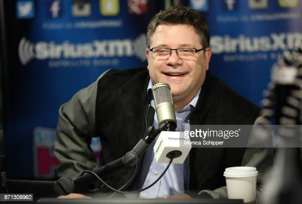 Actor Sean Astin visits SiriusXM Studios on November 7 2017 in New York City
