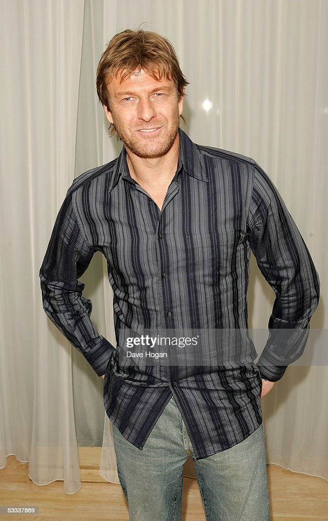Actor Sean Bean attends the aftershow party following the UK Premiere of 'The Island,' at Sanderson Hotel on August 7, 2005 in London, England.