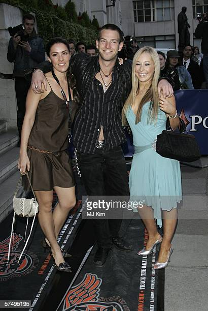 Actor Sean Brosnan and guests arrive at Gumball 3000 film premiere 2006 rally launch party at Savoy Place on April 29 2006 in London England