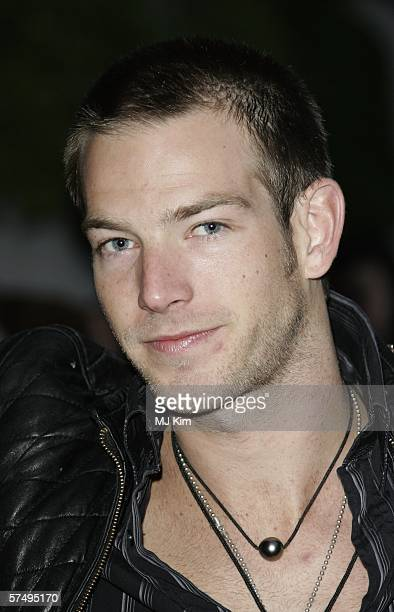 Actor Sean Brosnan arrives at Gumball 3000 film premiere 2006 rally launch party at Savoy Place on April 29 2006 in London England